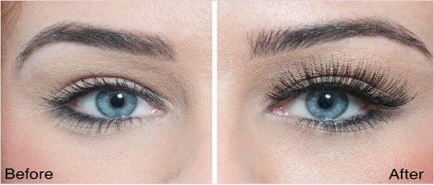 comparing real and fake eyelashes