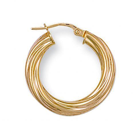 selection of gold hoop earrings